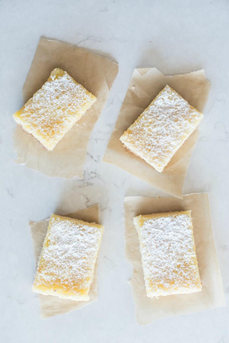Lemon Bars with Coconut Crust | www.mountainmamacooks.com