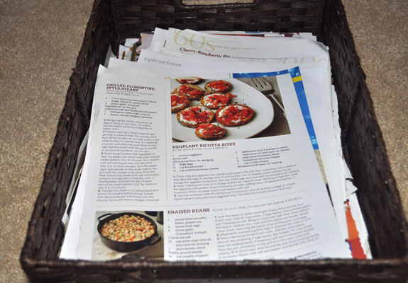 recipes-from-magazines