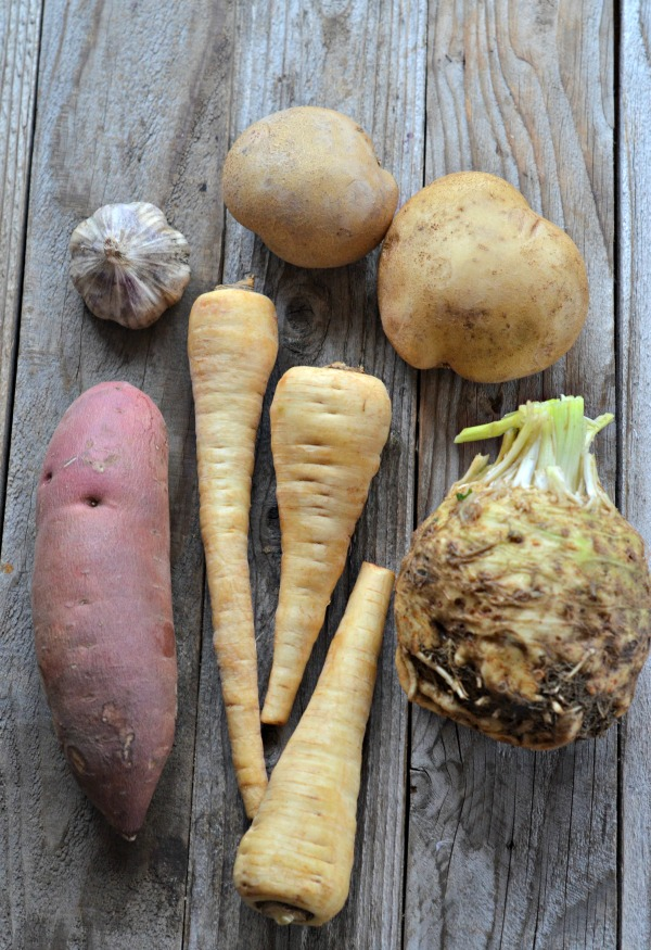Root Vegetable Mash | mountainmamacooks.com #eatseasonal