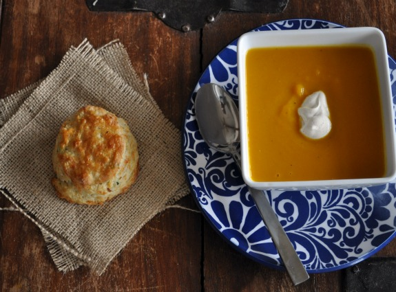 squash-soup-recipe-chive-parmesan-biscuit-mountain-mama-cooks