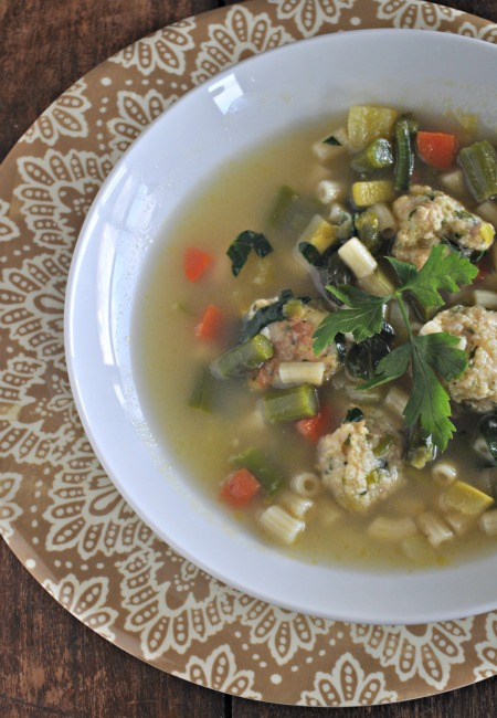 spring-minnestrone-recipe-chicken-meatballs