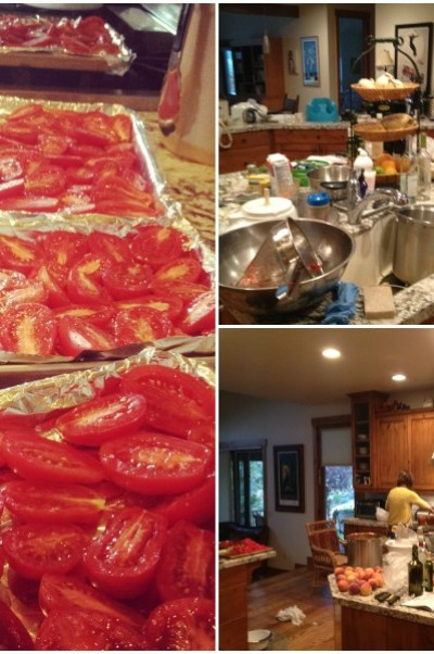 canning tomatoes, www.mountainmamacooks.com