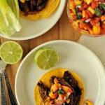 steak-tostada-with-peach-salsa-recipe-mountain-mama-cooks