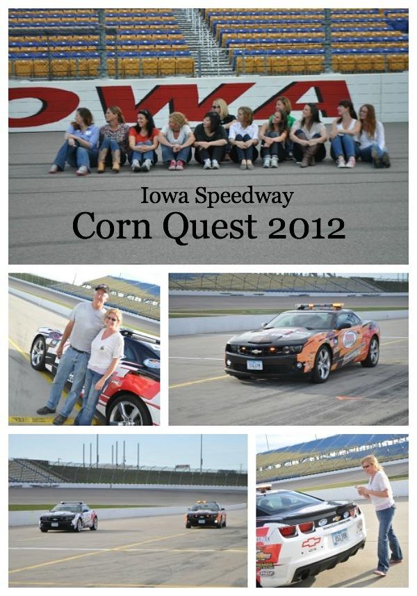 Corn Quest 2012, Iowa Speedway, www.mountainmamacooks.com