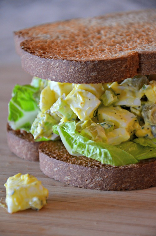 Dilly Green Bean Egg Salad Recipe, www.mountainmamacooks.com
