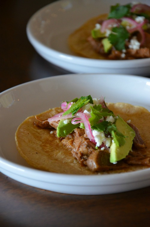 Slow Cooker Sweet Pork Barbacoa, www.mountainmamacooks.com #slowcooker #crockpot #recipe