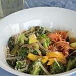 15 minute gluten free vegetarian pasta, www.mountainmamacooks.com