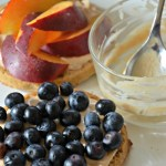 Honey-Cinnamon Goat Cheese Spread made with Vermont Creamery, www.mountainmamacooks.com #breakfast #waffles #goatcheese #vermontcreamery
