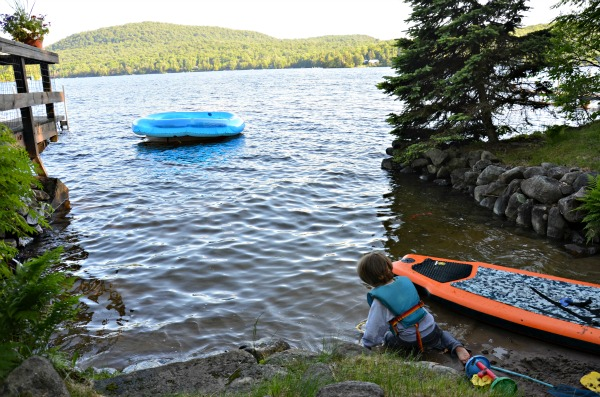 kid friendly canada lake, NY www.mountainmamacooks.com
