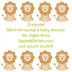 Baby Shower for Aggie