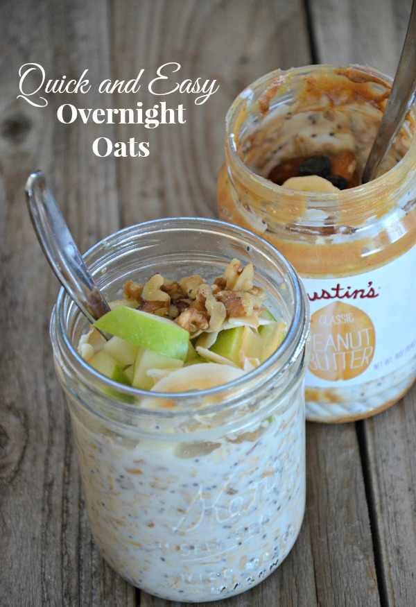 Quick and Easy DIY Overnight Oats | www.mountainmamacooks.com