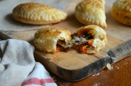 Sweet Potato and Chorizo Hand Pies | mountainmamacooks.com