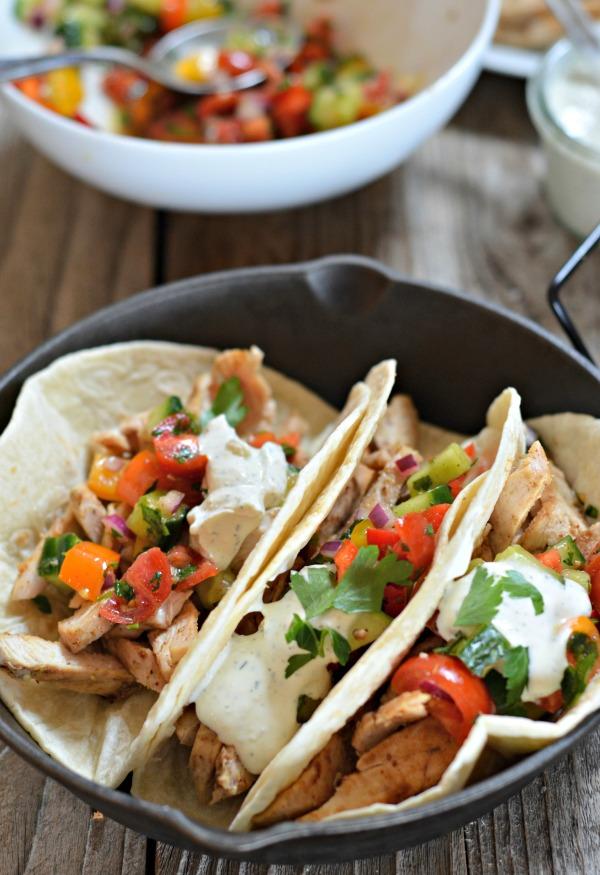 Za'atar Chicken Tacos | mountainmamacooks.com