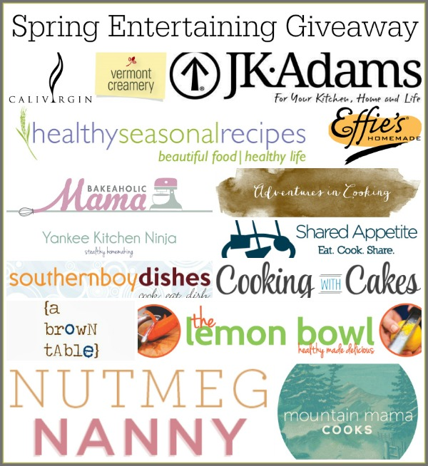 Spring Giveaway Prize Package | mountainmamacooks.com #giveaway