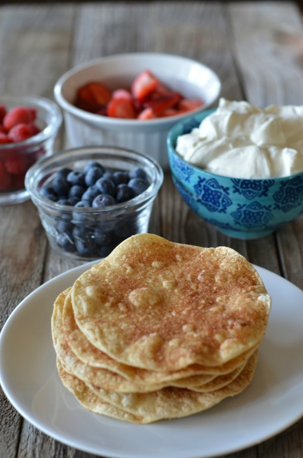 Berry Shortcake Tostadas | mountainmamacooks.com