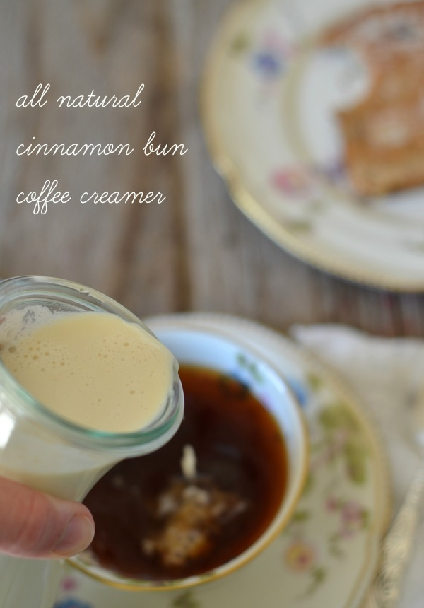 Cinnamon Bun Coffee Creamer | mountainmamacooks.com
