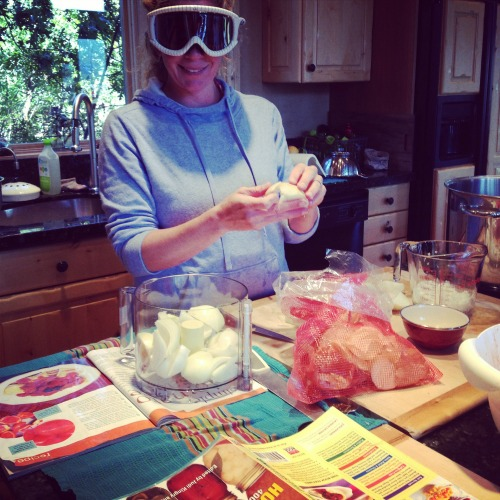 Cutting Onions | The Goods | mountainmamacooks.com