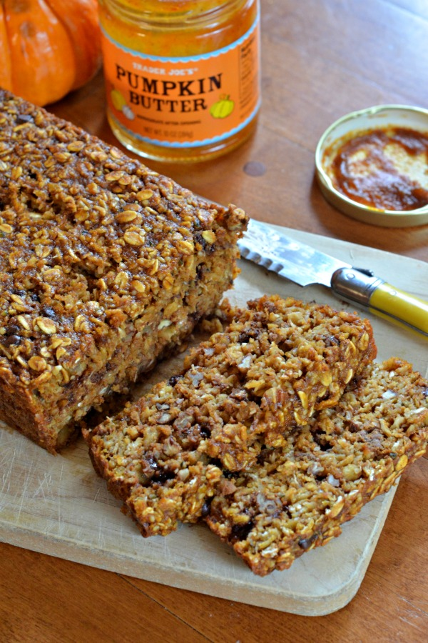 Pumpkin Spice Energy Bars | mountainmamacooks.com