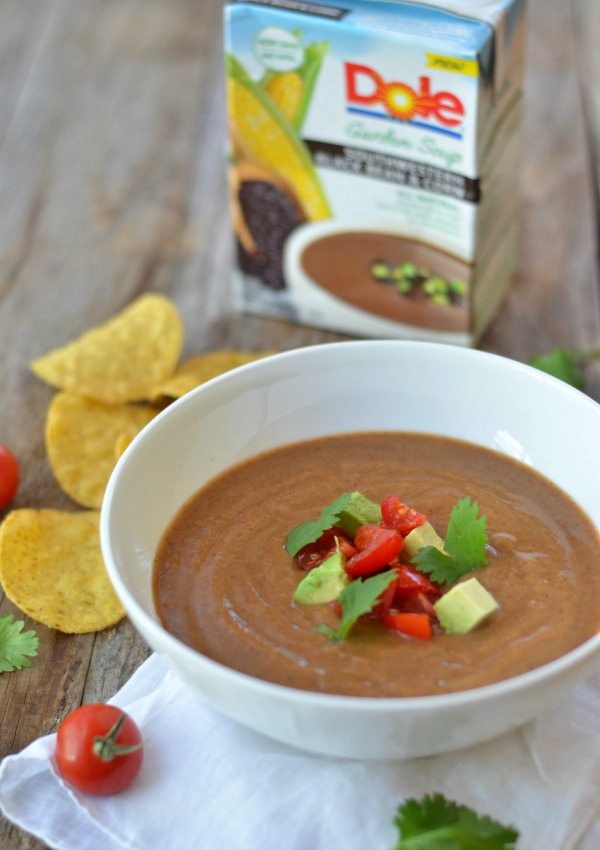 Dole Garden Soup | mountainmamacooks.com