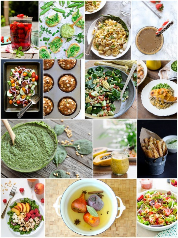 Spinach Pesto | mountainmamacooks.com #EatSeasonal