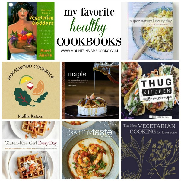 Favorite Healthy Cookbooks | mountainmamacooks.com