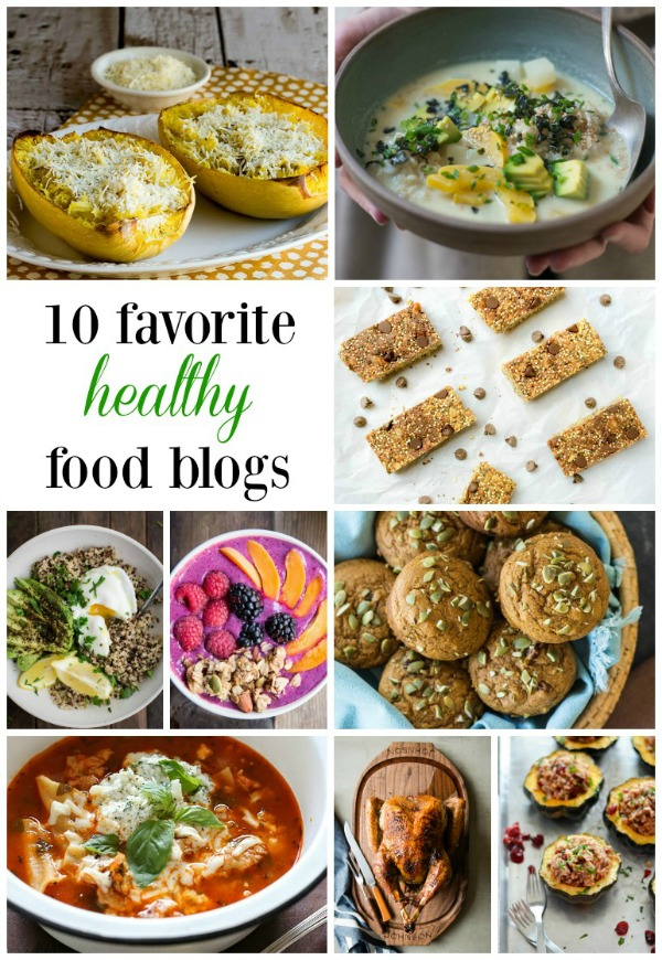 Favorite Healthy Food Blogs 2015 | mountainmamacooks.com