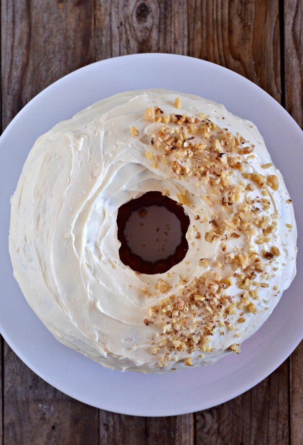 Carrot Bundt Cake | mountainmamacooks.com