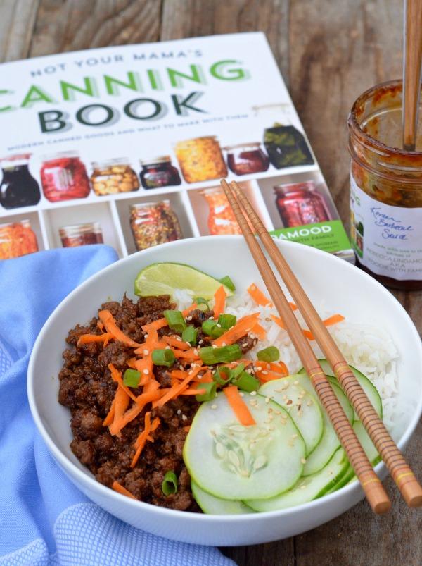 30 Minute Korean Beef Rice Bowls | mountainmamacooks.com