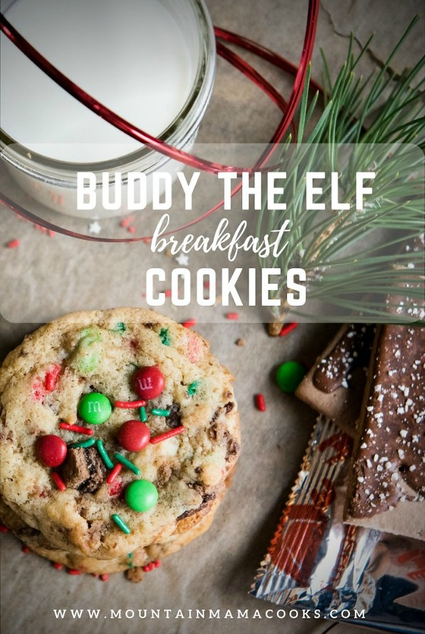 "Buddy the Elf ""Breakfast"" Cookies 