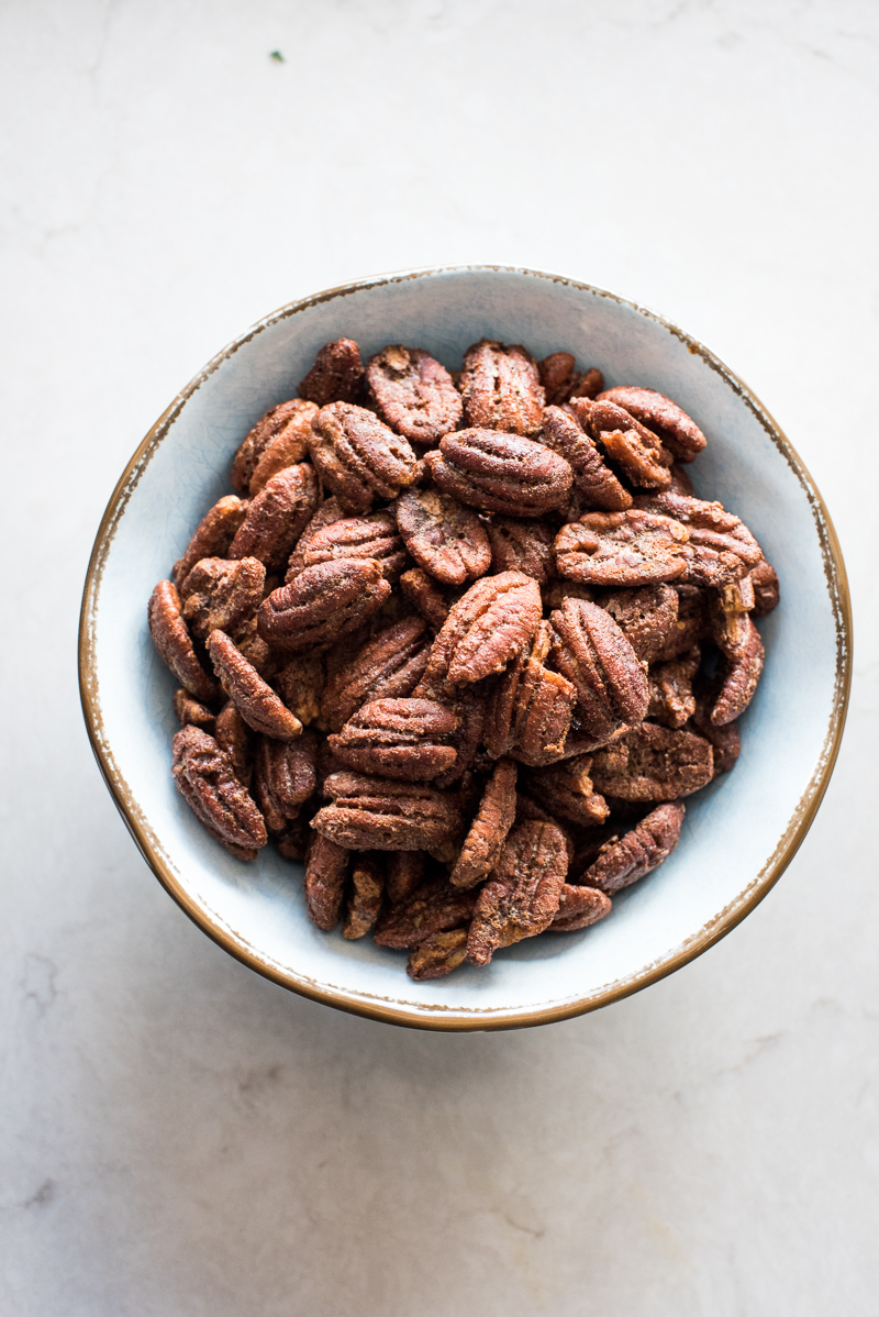 The Best Candied Pecans Mountain Mama Cooks