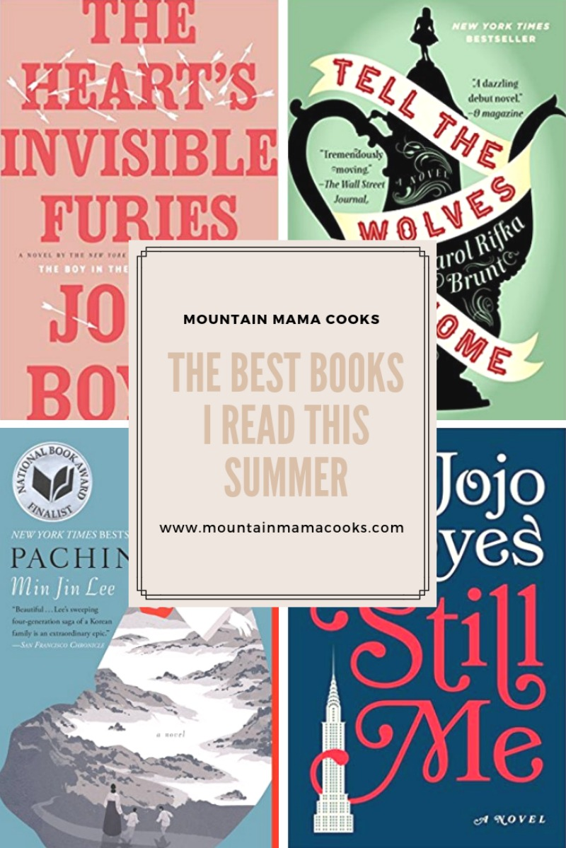 The Best Books I Read This Summer | www.mountainmamacooks.com