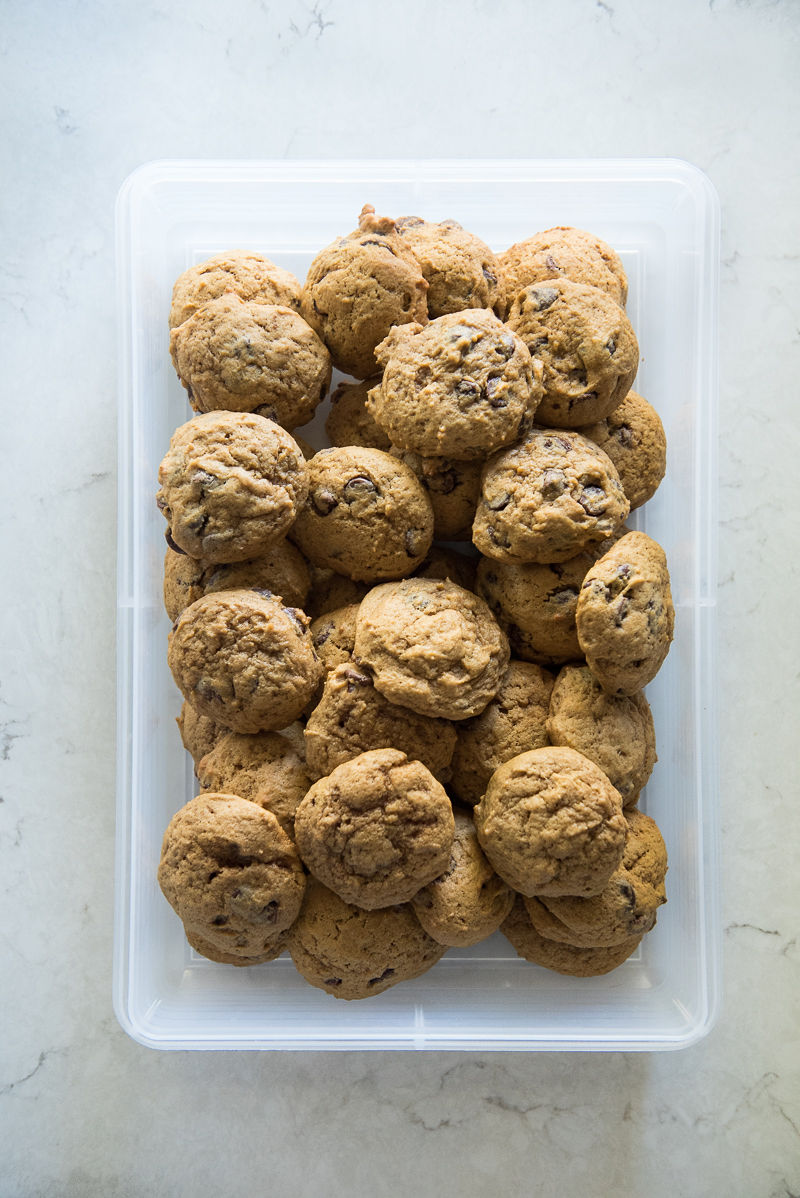 High Altitude Chocolate Chip Cookies | www.mountainmamacooks.com