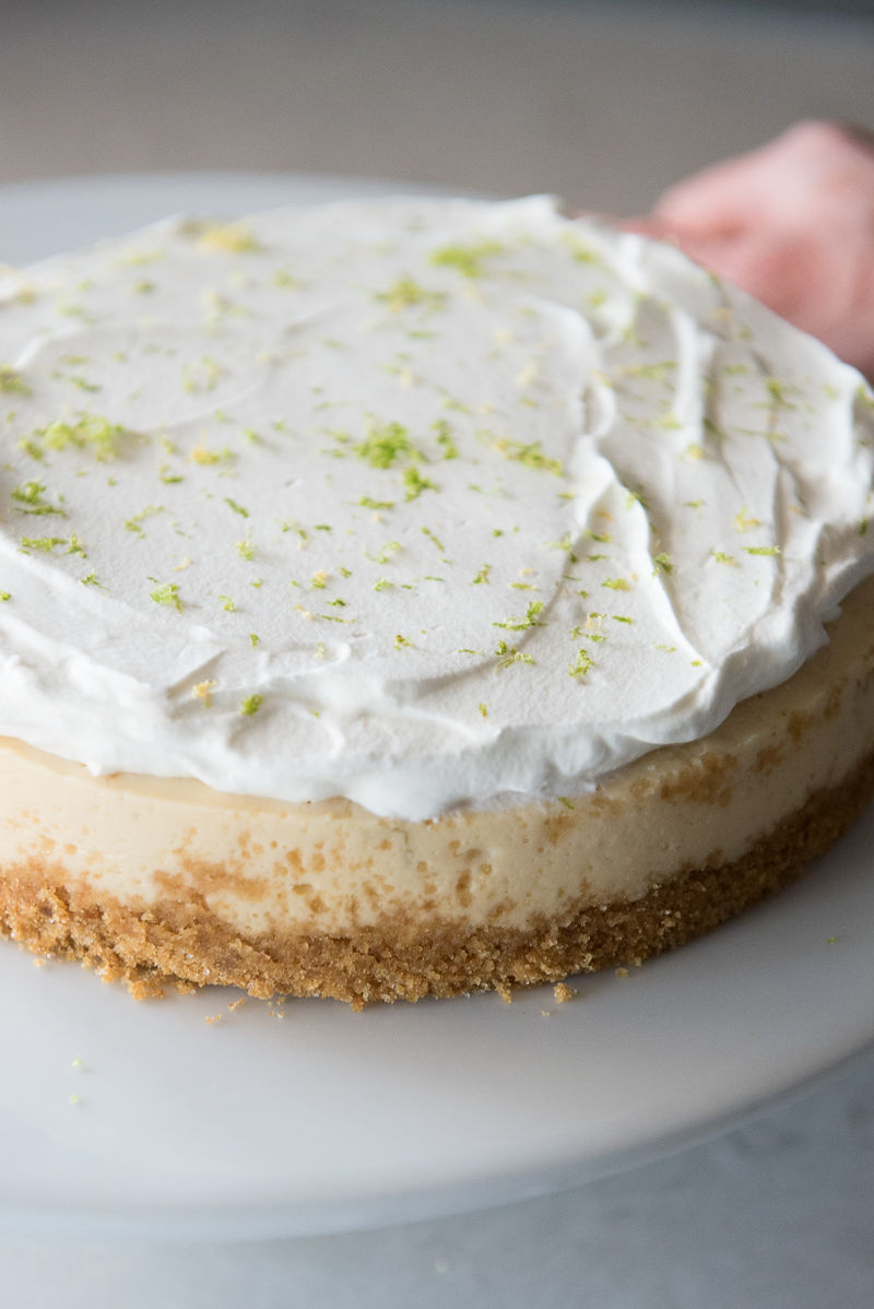 Instant Pot Key Lime Cheesecake | www.mountainmamacooks.com