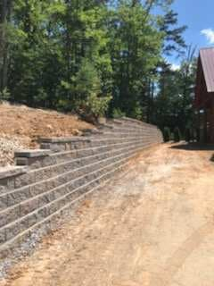 retaining wall sevierville