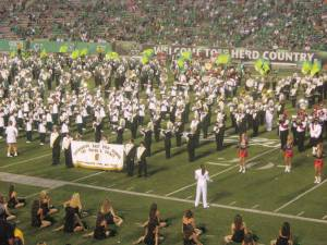GEHS Band Participates In Marshall University Band Day