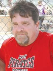 Bruce Callison, much admired and respected softball coach in Renick