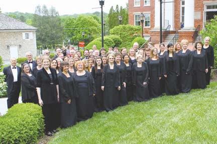 Greenbrier Valley Chorale 2013