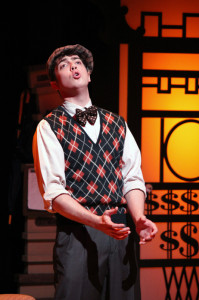 Evan Zimmerman as Harry Witherspoon (Photo courtesy of Greenbrier Valley Theatre)