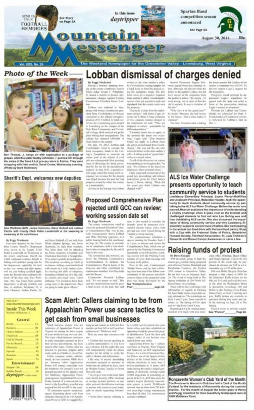 eMessenger for August 30, 2014