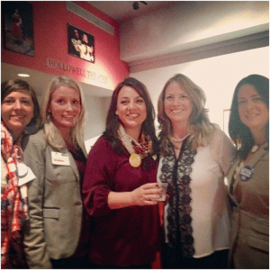 Power of the Purse Committee: Shannon Rausenberger, Katie Eads, Mary Baldwin, Cindy Lavender-Bowe, and Deva Wagner