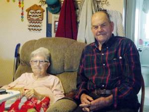 Elmer and Mabel Hedrick (Photo by Mark Robinson)