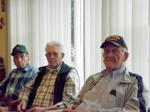 Emery Boone, Florey Bucklen and James Pyne (Photo by Mark Robinson)