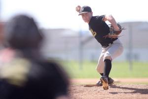 Noah Parker and his Southern West Virginia teammates went 5-1 and took the title in the 14U bracket at the Top Gun World Series hosted by the town of Christiansburg, VA. (Photo by Jon Fleming, courtesy of The News Messenger)