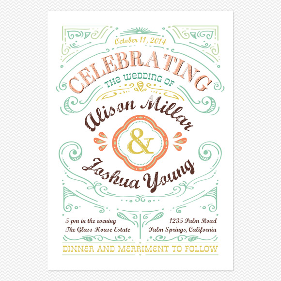 Designing Your Own Wedding Invitations