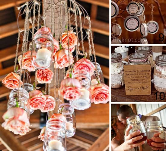 Vintage Wedding Ideas Mason Jars: Mason Jar Wedding Ideas