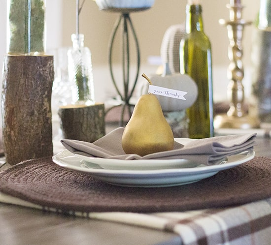 rustic woodland thanksgiving tablescape ideas mountainmodernlife.com