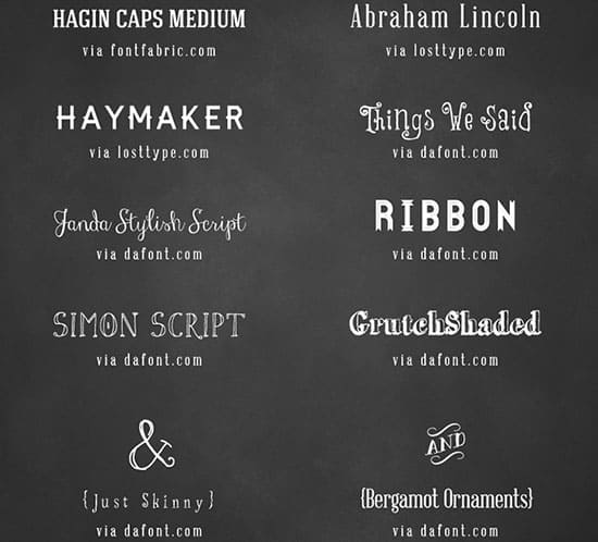 free fonts used on free diy wedding invitation mountainmodernlife.com