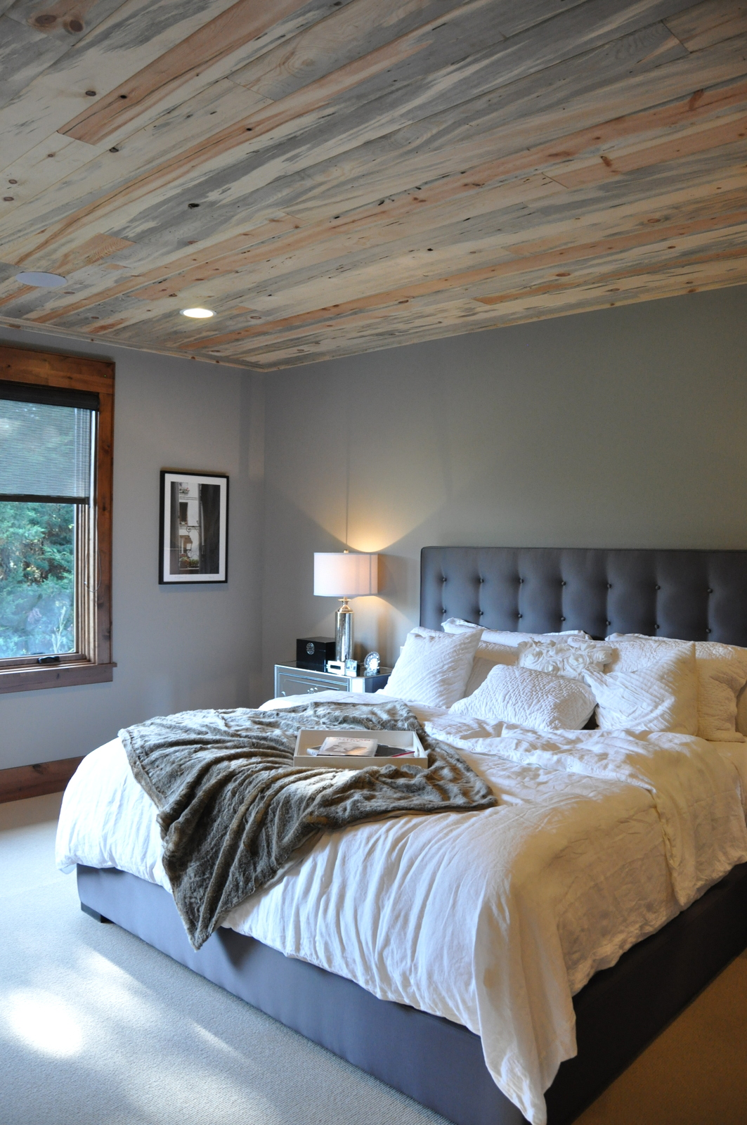 rustic modern bedroom furniture bed