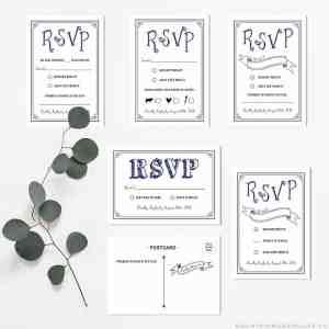 DIY RSVP Card