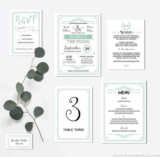Rustic Diy Wedding Invitations Ideas Easy Country Invitation Envelopes Projects